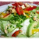 Зеленый салат с болгарским перцем