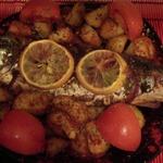 Рыба с травами и картофелем