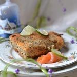 Горячее Новогодний лосось
