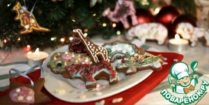 Рецепт: Печенье на ёлку