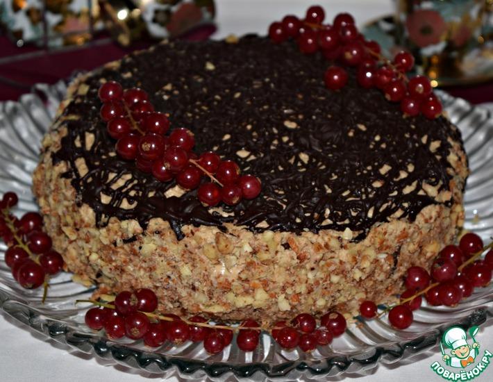 Рецепт: Торт Для подружки