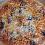 Пицца Безумие в микроволновке