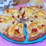Пикантный пирог с перцем Костер