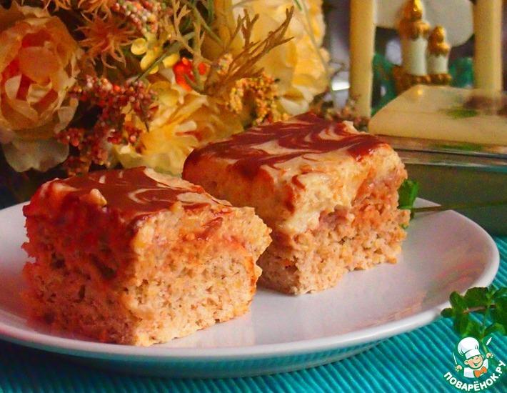 Рецепт: Яблочный пирог с ореховым кремом