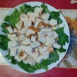 Салат с курицей и шампиньонами Премьер