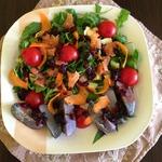Теплый салат Лиловая рапсодия