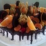 Глазурь для подтёков на торте