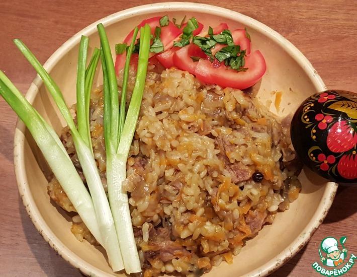 Жаркое из баранины с рисом