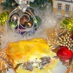 Запеканка из картофеля и маринованных грибов Оки