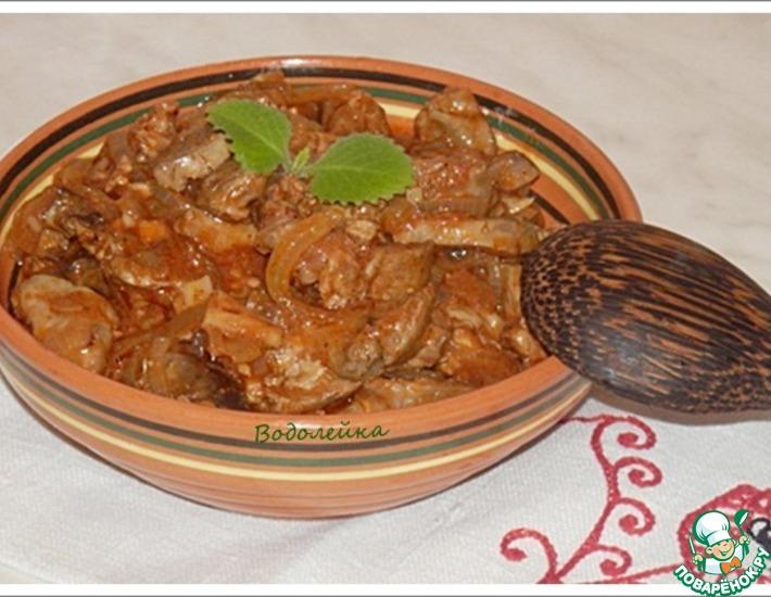 Рецепт: Армянский тжвжик