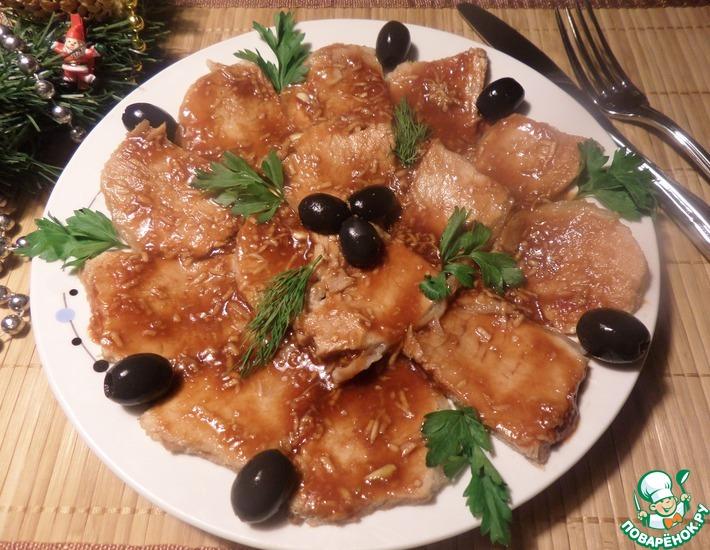Рецепт: Свинина На закуску