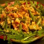 Теплый салат с секретом
