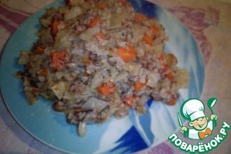 Рецепт: Гречка с овощами