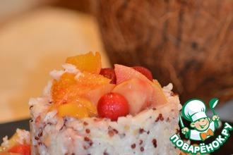 Рецепт: Гавайский пудинг с рисом и киноа