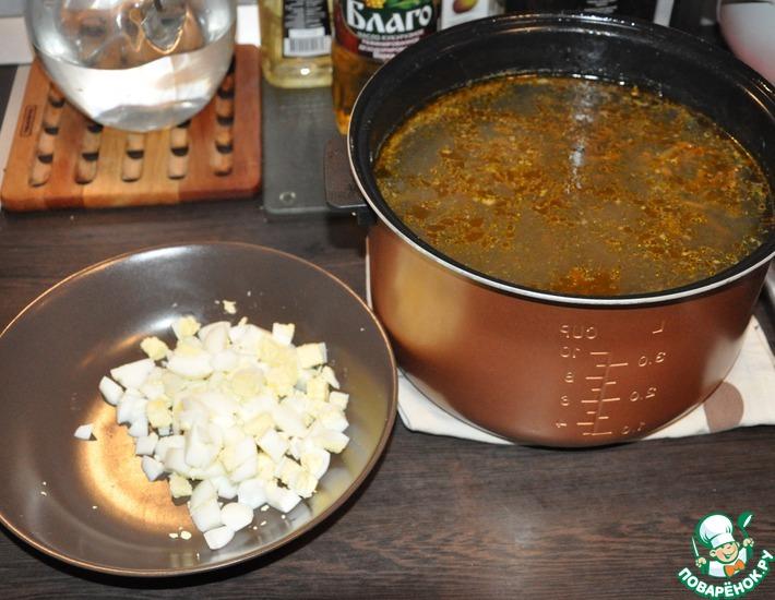 Рецепт: Суп щавелевый