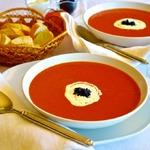 """Томатный суп """"Кровавая Мэри"""""""