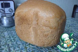 Рецепт: Пшенично-ржаной хлеб