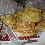 Десерт Зимняя роза