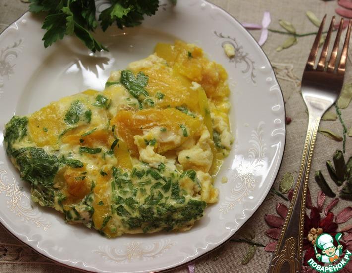 Рецепт: Австрийский омлет из тыквы