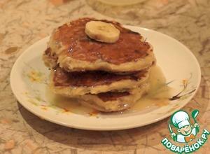 Рецепт Творожно-банановые панкейки