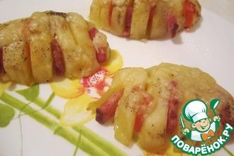 Рецепт: Картофельные ракушки
