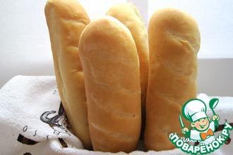 Рецепт: Сливочный мини-хлеб