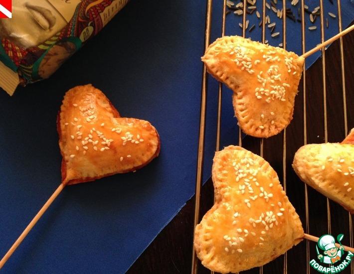 Рецепт: Пай-попсы Валентинки
