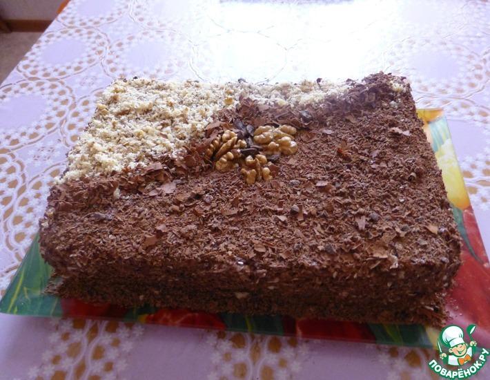 Рецепт: Торт с какао