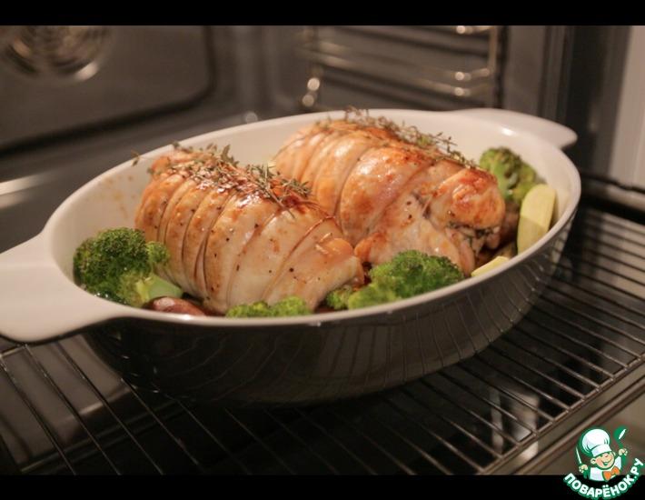 Рецепт: Запеченная индейка