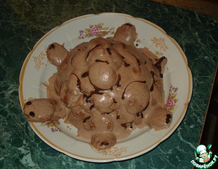Рецепт: Торт Черепаха