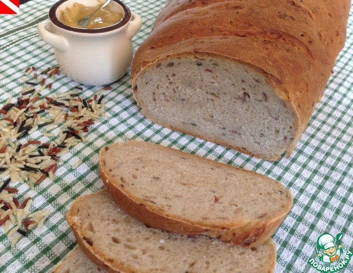 Рецепт: Рисовый хлеб