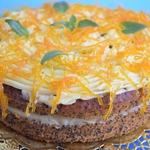 Апельсиново-маковый торт