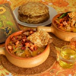 Соус к блинам из мяса и грибов Мачанка