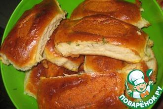 Рецепт: Пирожки с горохом
