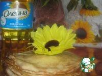 Пирог из блинов без муки Забава ингредиенты