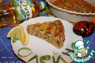Рецепт: Рязанский блинчатый пирог