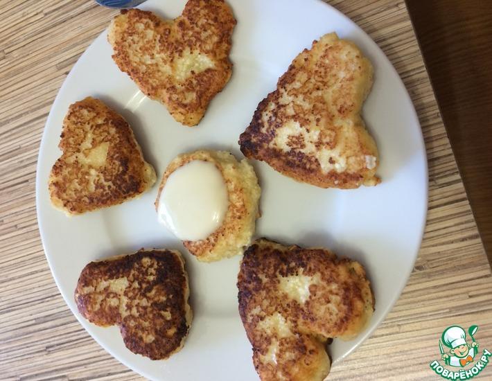 Рецепт: Цитрусовые сырники