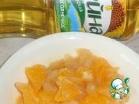 Блинчики с карамелизованными яблоками и апельсинами ингредиенты