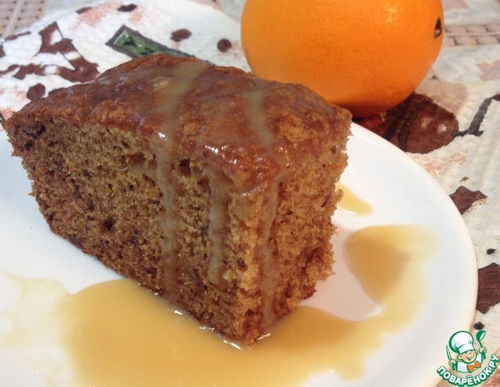 Рецепт: Финиково-апельсиновый пудинг
