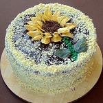Кофейно-блинный торт