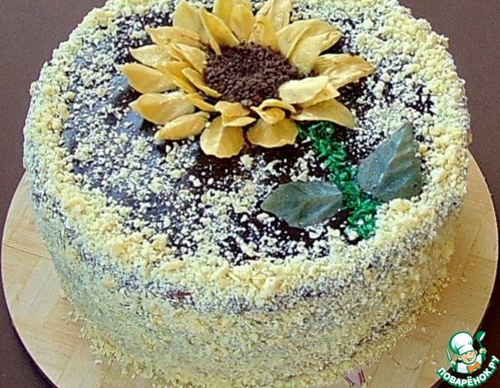 Рецепт: Кофейно-блинный торт