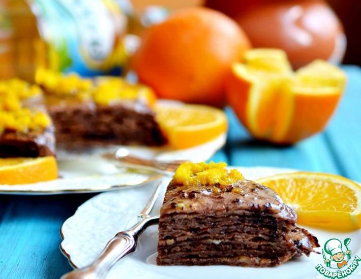 Картинки по запросу Апельсиново-шоколадные блины