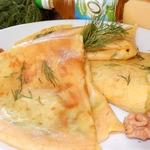 Сырная начинка к пикантным блинчикам