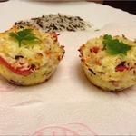 Закусочные маффины с рисом