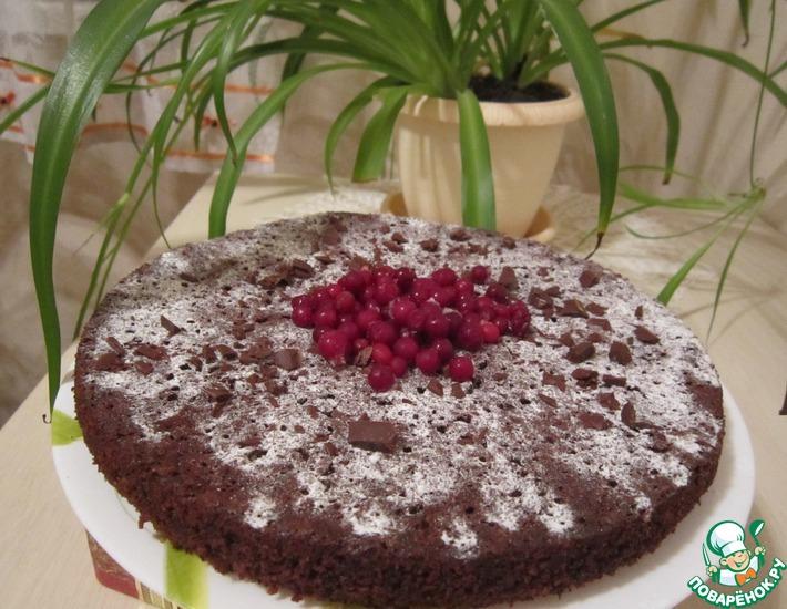 Рецепт: Шоколадно-свекольный пирог