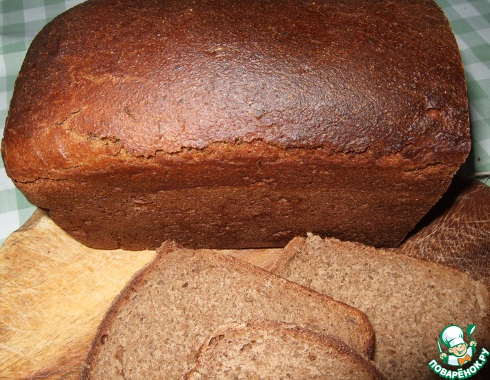 Рецепт: Ржаной хлеб в аэрогриле