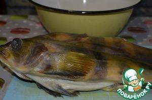 К рису у меня была рыба терпуг.