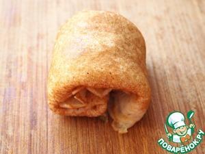 Fold rolls.