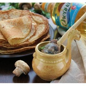 Соус из шампиньонов и сыра дор блю
