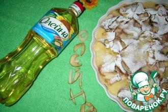 Рецепт: Блинчики с творогом и ананасом